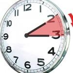 Dissabte cal avançar els rellotges un hora per a l'horari d'estiu