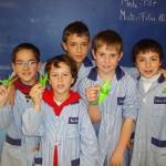 El Col·legi Sant Genís i Santa Agnès col·labora a la Marató de TV3 amb més de 200 grues de paper