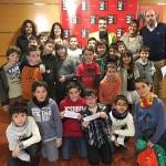 Alumnes del Col·legi Sant Genís i Santa Agnès al programa d'economia de RAC1