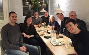 Sopar amb companys de feina