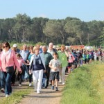 El Col·legi Sant Genís repeteix per 6è any la caminada entre alumnes i gent gran