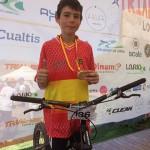 Jordi Tulleuda es proclama campió d'Espanya de trial en bicicleta en categoria principiant