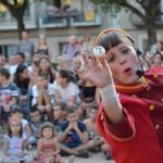 Les activitats infantils marquen el dilluns de Festa Major a Taradell