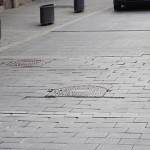 Dilluns comencen les obres per reparar el paviment de La Plaça amb el carrer de la Vila