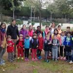 El Col·legi Sant Genís i Santa Agnès segueix conscienciant que els alumnes vagin a peu a escola