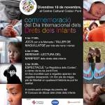 Taradell celebra divendres la festa dels Drets dels Infants