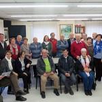 El casal de gent gran de Taradell acull una de les trobades d'associacions de gent gran