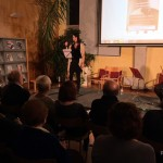 Recital de poemes de Josefina Peraire en el Dia Mundial de la Poesia a Taradell