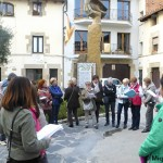 Una ruta literària per Taradell recorda la poesia de Joana Raspall