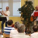 Concert de bandolers amb Els d'en Samarra a la Biblioteca de Taradell