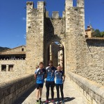 Josep Maria Feixas i Meritxell Freixas guanyen la cursa d'orientació de Besalú