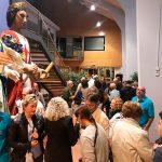 Una exposició repassa els 40 anys d'història dels Gegants de Taradell