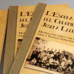Es presenta a la Biblioteca de Taradell un llibre sobre l'escola El Colomer i la seva mestra Josefa Lleopart