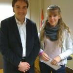 Aina Altimir Esquis guanya el 3er Premi Ajuntament de Taradell