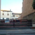 Ja ha començat l'enderrocament del col·legi Sant Genís i Santa Agnès