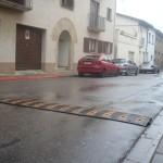 Bandes sonores al carrer Sant Sebastià per reduir la velocitat dels cotxes