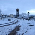 Recull d'imatges de la nevada de les últimes hores a Taradell