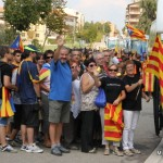 Participació històrica de Taradell amb 11 autocars a la manifestació de l'11 de Setembre