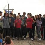 L'Agrupament Rocaguinarda inaugura el curs amb una caminada i xocolatada al Castell d'en Boix
