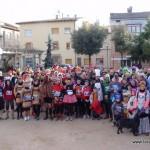 160 participants acomiaden el 2012 amb la Sant Silvestre de Taradell