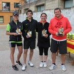 Marta Jutglar i Àngel Márquez guanyen el Torneig Sant Jordi de pàdel del Club Parc d'Esports