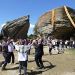 Ambient assolellat per celebrar l'Aplec al Castell d'en Boix