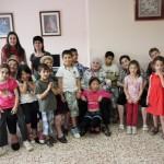 La gent gran de Taradell explica experiències als infants d'El Puntal