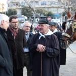 El Conseller Ferran Mascarell presideix un massiu passant dels Tonis de Taradell