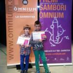 Dos taradellencs guanyen el Premi Sambori d'Òmnium Cultural