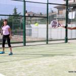 24 parelles competeixen en el Torneig de pàdel femení del Club Parc d'Esports