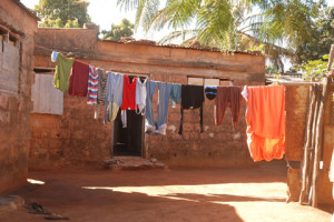 Casa típica de Moçambic