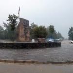 La pluja fa la guitza a la Festa Major i l'homenatge a Joan Coll s'ajorna a demà dissabte