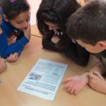 Escolars de Taradell participen en l'elaboració de la felicitació de Nadal de la Mancomunitat La Plana