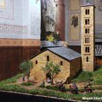 El pessebre de la capella de Santa Llúcia reprodueix Sant Climent de Taüll