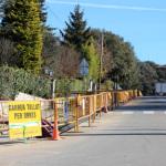 Es fan per trams les obres de millora de serveis a la urbanització La Roca
