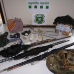Els Agents Rurals enxampen un caçador furtiu d'ocells de cant a Taradell