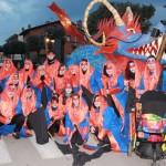 Els Troneres guanyen el premi a la millor carrossa del Carnaval 2015 de Taradell