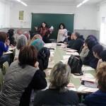 Una trentena de persones nouvingudes a Taradell participen als tallers per aprendre català