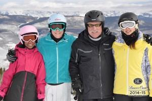 Host Family de l'Anna a l'estació d'esquí de Vail