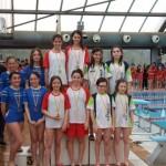 La taradellenca Mireia Montaña guanya tres ors en natació al Girosona aleví
