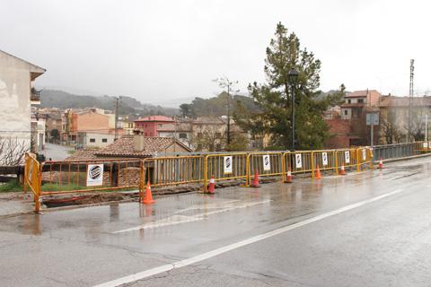 Obres pont Font Gran taradell