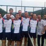 L'equip de pàdel del Parc d'Esports puja a la Tercera Divisió comarcal