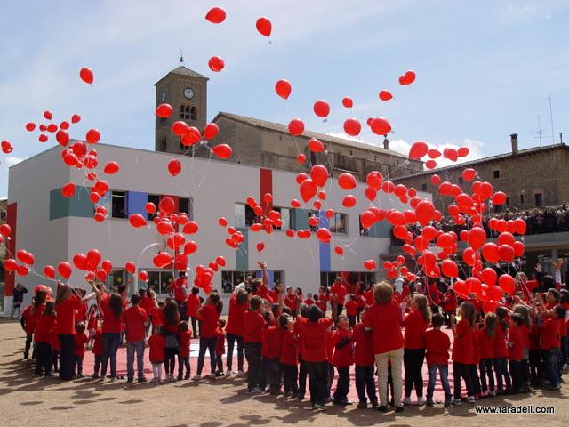 inauguracio col·legi sant genís 2012