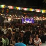 La Plaça de les Eres queda petita en la 1a edició de l'Envelat de Festa Major