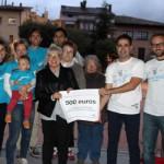 L'Envelat de la Plaça de les Eres 2015 dóna 500 euros a Osona contra el Càncer