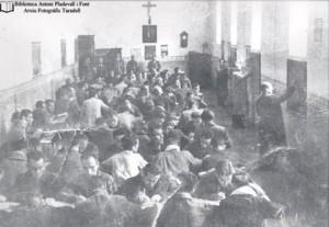Mestre Anastasi a la presó el 1939
