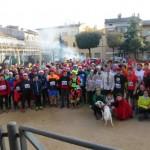 112 participants tanquen el 2015 amb la Sant Silvestre de Taradell