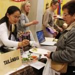Massiva assitència de gent a la 9a Mostra de Cuines del món de Taradell