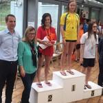 Mireia Montaña obté 5 medalles als campionats de Girona de natació