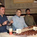 Carles Quílez presenta el llibre 'Sigue la mala vida' amb bombons del Xocolater de Taradell
